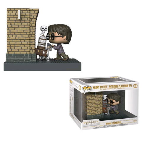 Harry Potter - Harry Potter Entering Platform 9 3/4 US Exclusive Movie Moment Pop! Vinyl
