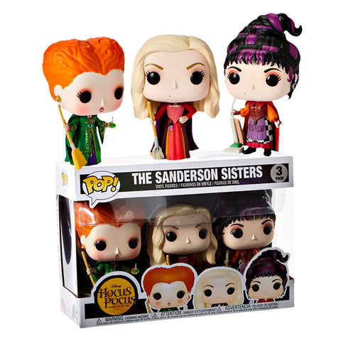 Hocus Pocus - The Sanderson Sisters Pop! Vinyl Figure 3-Pack