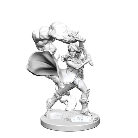 Image of Pathfinder Deep Cuts Unpainted Minis Human Female Cleric