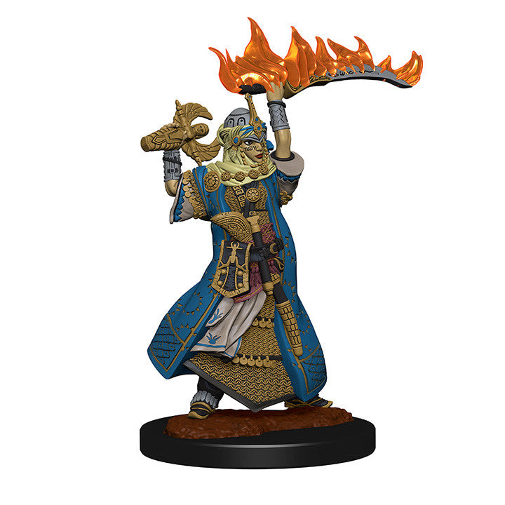 Pathfinder Deep Cuts Unpainted Minis Human Female Cleric