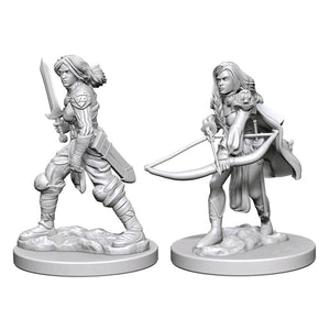 Pathfinder - Unpainted Human Female Fighter