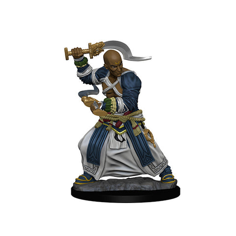 Image of Pathfinder Deep Cuts Unpainted Minis Human Male Monk