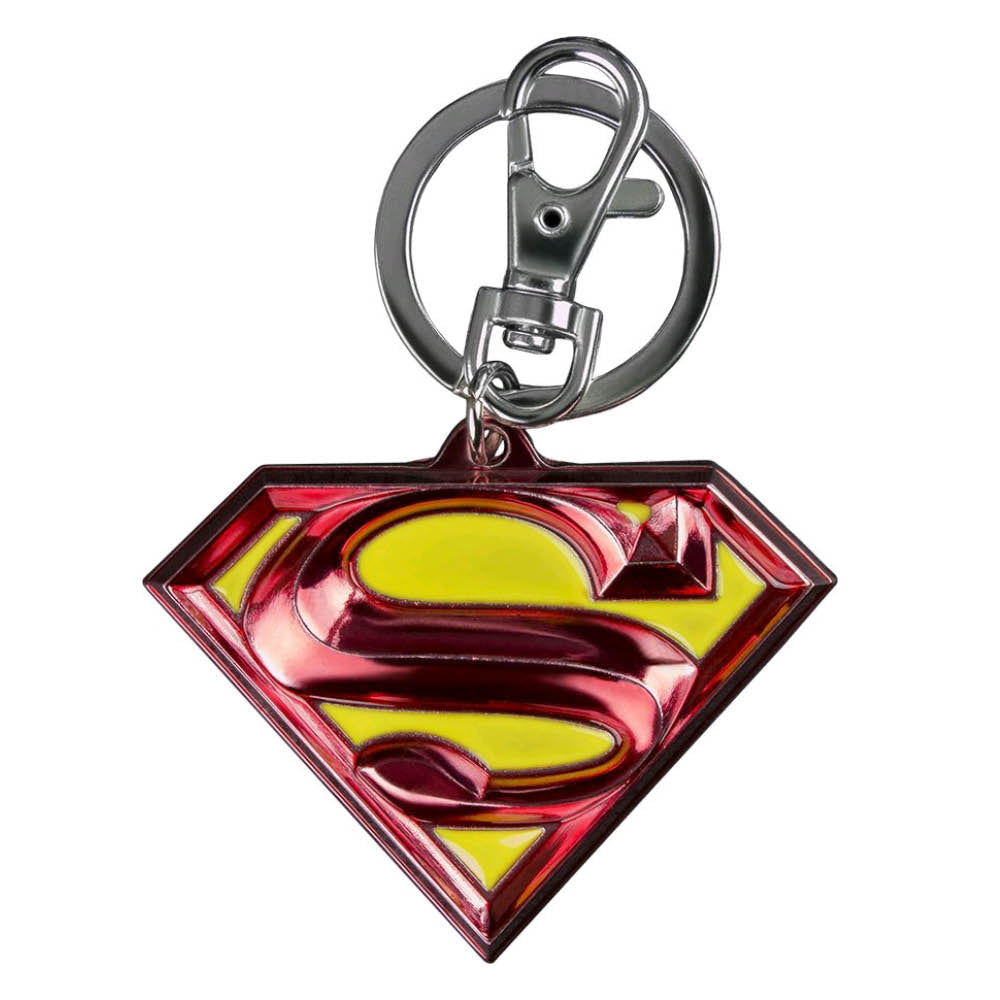 Superman - Logo Colour Enamel Keychain