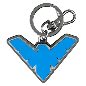 Batman - Nightwing Logo Colour Enamel Keychain