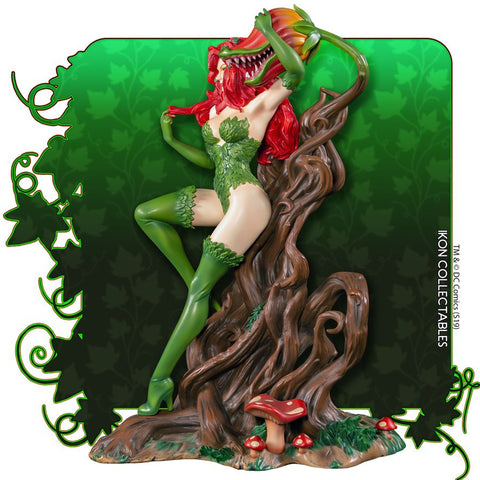 Batman - Poison Ivy on Vine Throne with Killer Flower Statue (with 1-of-1 Chance)