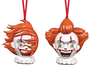 It (2017) - Pennywise Christmas Ornament 2-pack