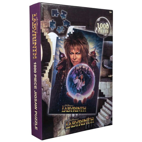 Labyrinth - Movie Poster Jigsaw Puzzle