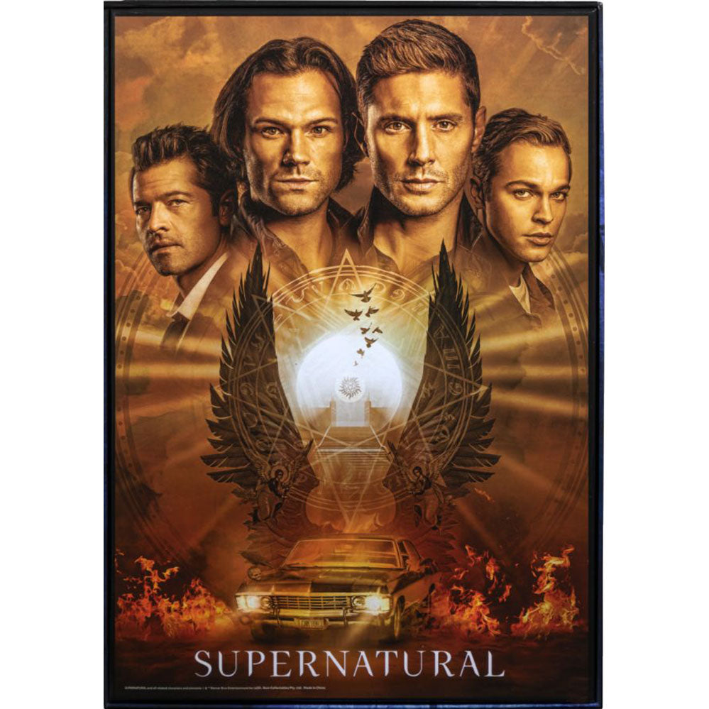 Supernatural - Poster 1000 pce Puzzle