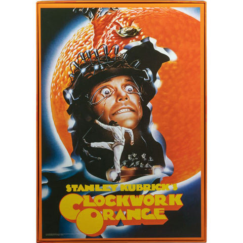 Clockwork Orange - Kubrick Poster 1000 pce Jigsaw