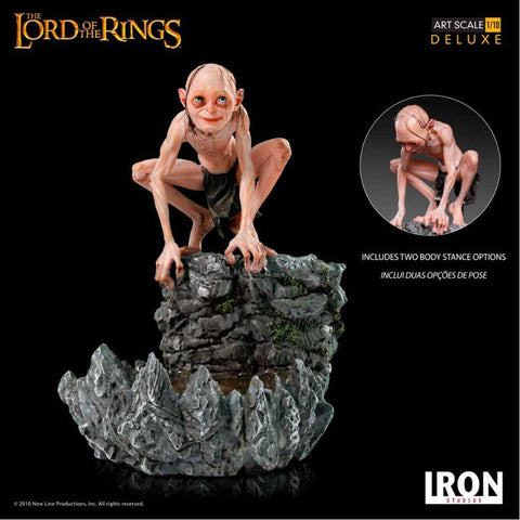 The Lord of the Rings - Gollum Deluxe 1:10 Scale Statue