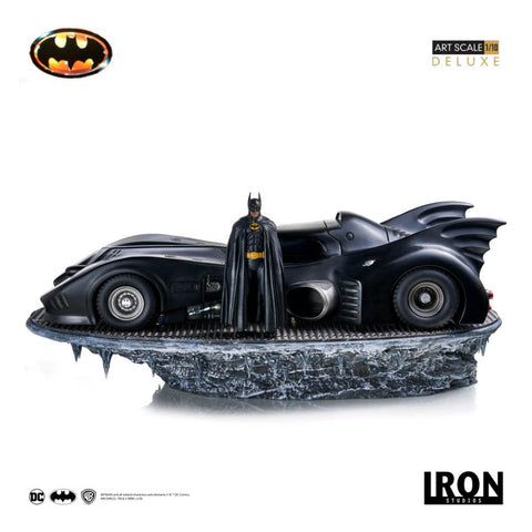 Batman 1989 - Batmobile & Batman 1:10 Scale Statue