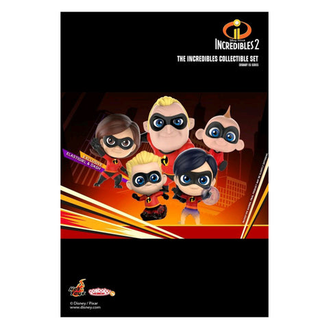 Incredibles 2 - Cosbaby Collectible Set