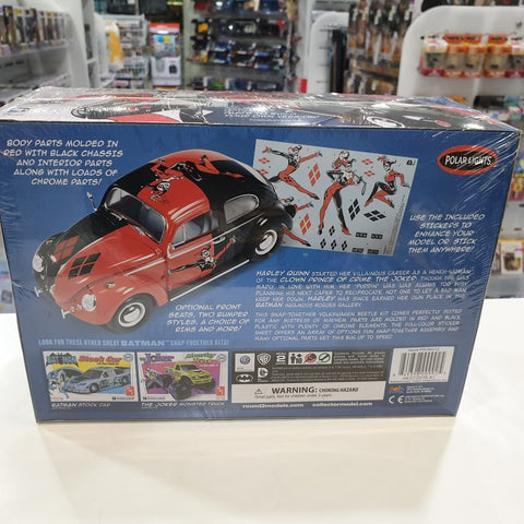 1:24 DC Comics Harley Quinn VW Beetle Plastic Model Kit