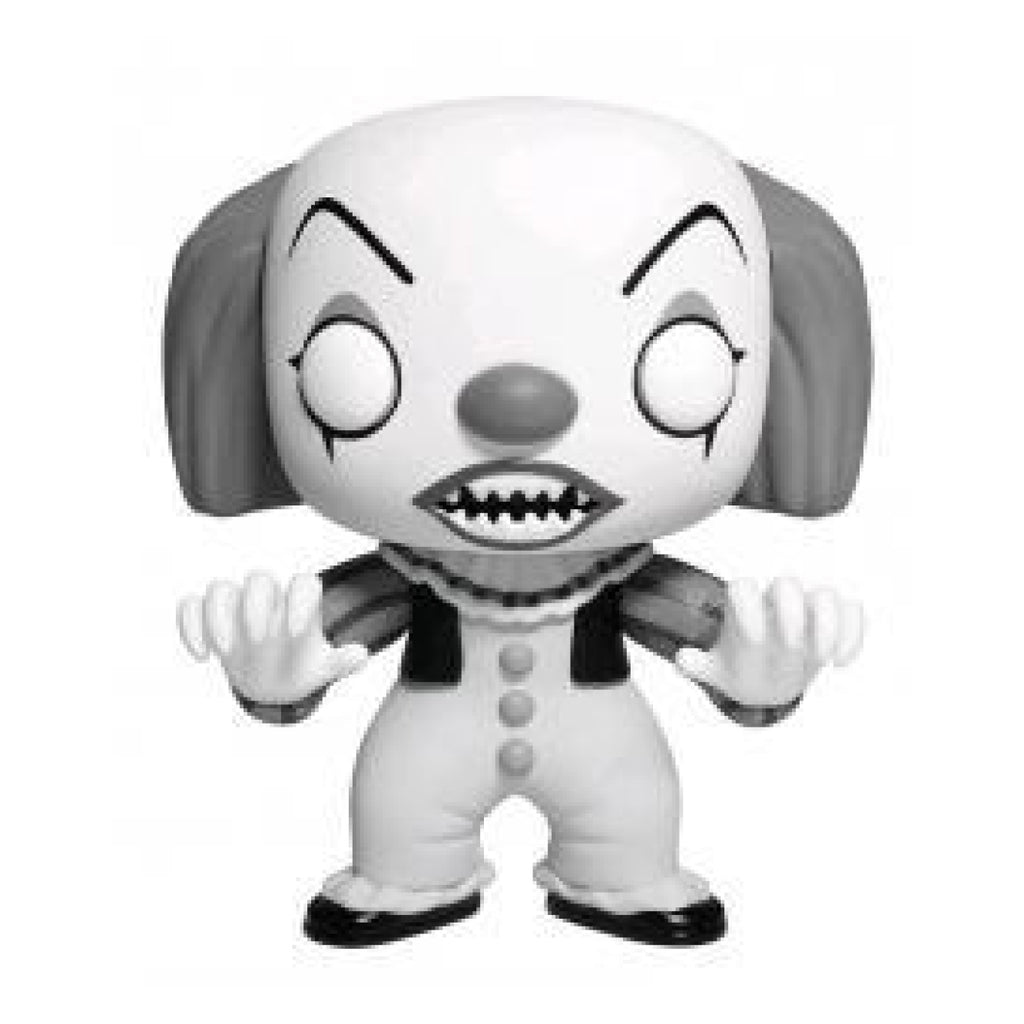 It - Pennywise Black And White US Exclusive Pop Vinyl