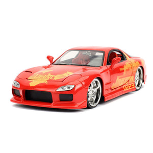 1/24 Fast and Furious Julius Orange Mazda RX-7