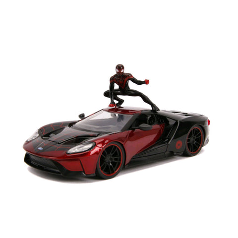 Spider-Man - Miles Morales 2017 Ford GT 1:24 Scale Hollywood Ride