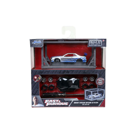 Image of Fast & Furious - Brians Nissan GT-R 1:55 Model Kit
