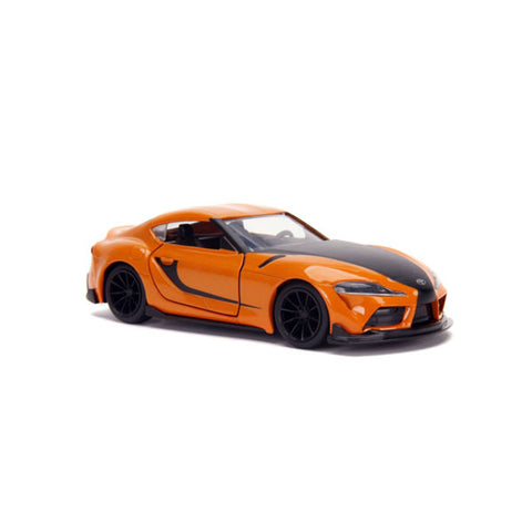 Fast and Furious 9 - 2020 Toyota Supra Metallic Orange 1:32 Scale Hollywood Ride