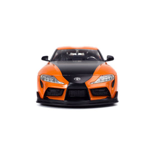 Fast and Furious 9 - 2020 Toyota Supra Metallic Orange 1:24 Scale Hollywood Ride