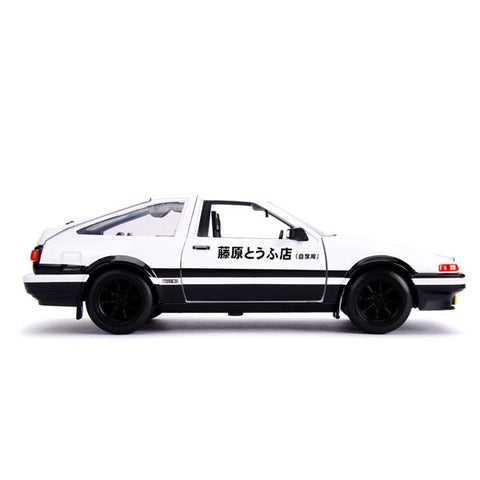 Image of Initial D - 1986 Toyota Corolla Trueno AE86 1:24 Hollywood Ride