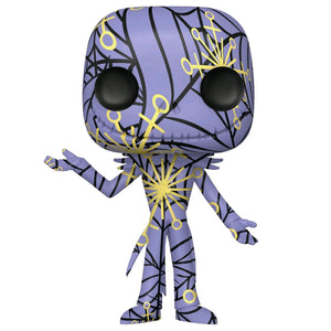 The Nightmare Before Christmas - Jack (Artist) Purple & Yellow Pop! Vinyl with Protector
