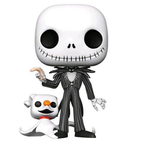 "The Nightmare Before Christmas - Jack with Zero 10"" Pop! Vinyl"