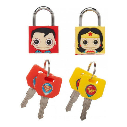 Image of Justice League Wonder Woman/Superman Lock Combination