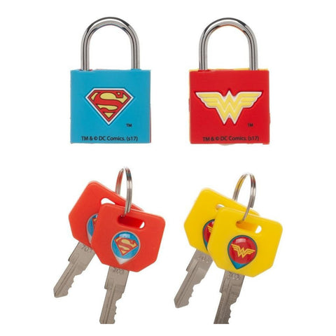 Justice League Wonder Woman/Superman Lock Combination
