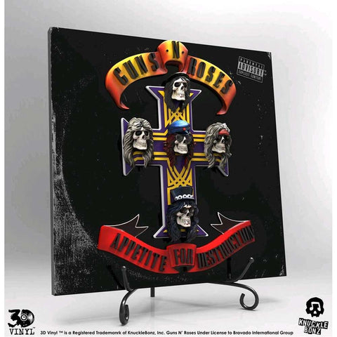 Guns N' Roses - Appetite for Destruction 3D Vinyl