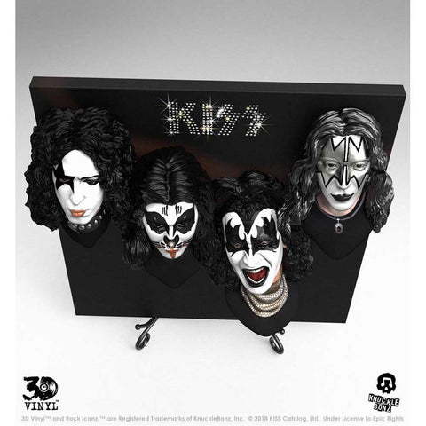 Image of KISS - Debut Album 3D Vinyl