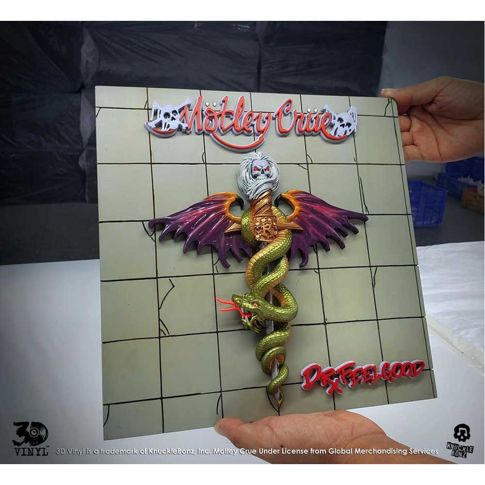Motley Cru - Dr Feel Good 3D Vinyl Statue