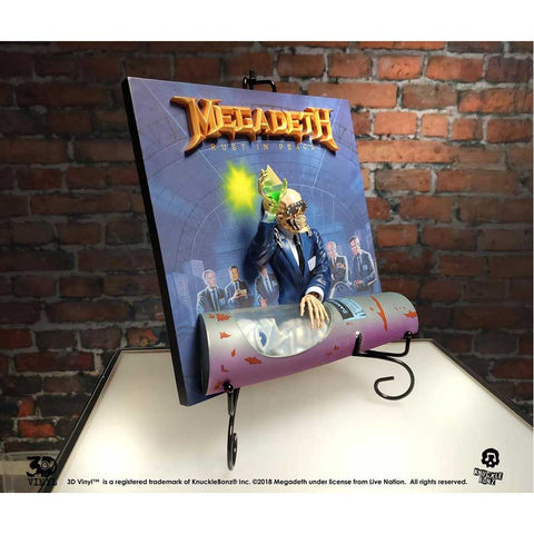 Image of Megadeth - Rust in Peace 3D Vinyl Statue