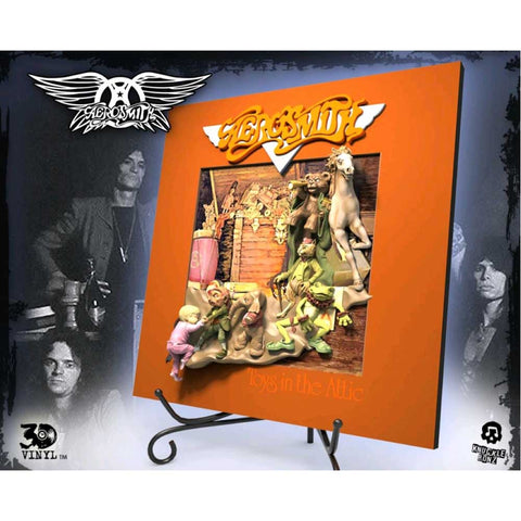 Aerosmith - Toys in the Attic 3D Vinyl Statue