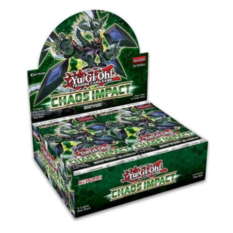 Yugioh Chaos Impact Booster Box