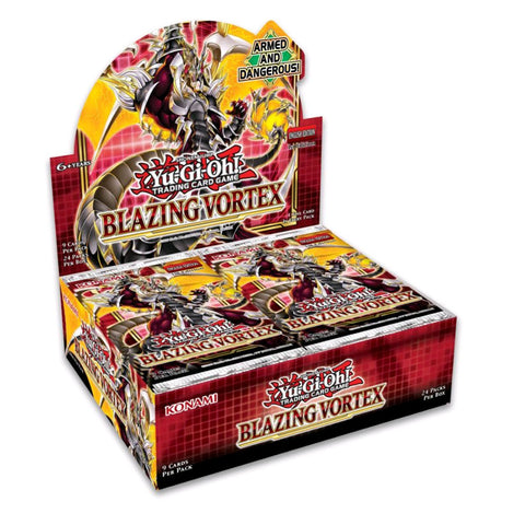 Yu-Gi-Oh! - Blazing Vortex Booster Display