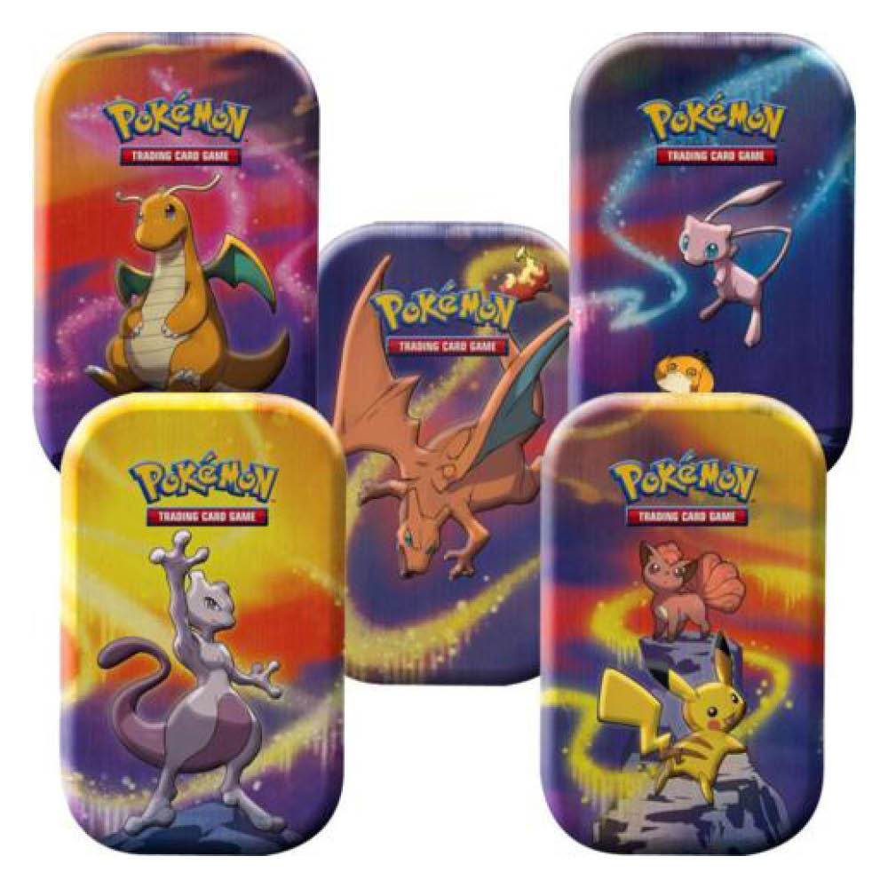 Pokemon TCG: Kanto Power Mini Tin