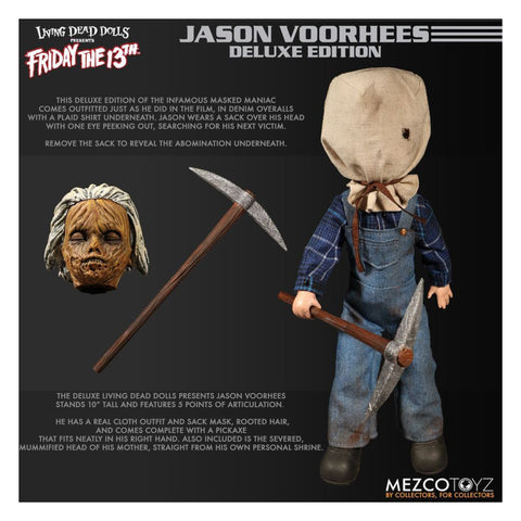 Image of Living Dead Dolls - Jason Voorhees Deluxe Edition