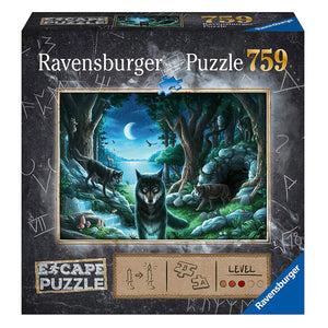 Ravensburger - ESCAPE 7 The Curse of the Wolves 759 pieces Save