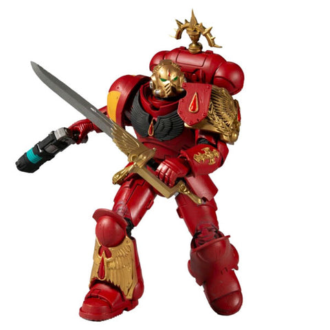 "Image of Warhammer 40K - Blood Angels Primaris Lieutenant 7"" Action Figure"