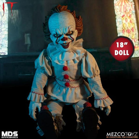 "It (2017) - Pennywise 18"" MDS Roto Plush"