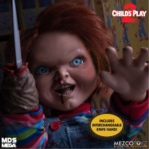 "Image of Child's Play 2 - Menacing Chucky 15"" Mega Figure"