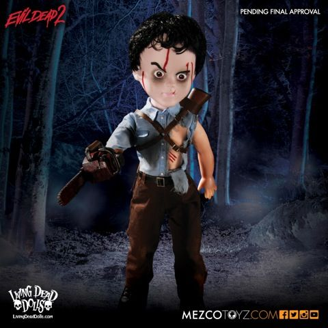 Image of Living Dead Dolls - Evil Dead 2 Ash 10 inch Doll