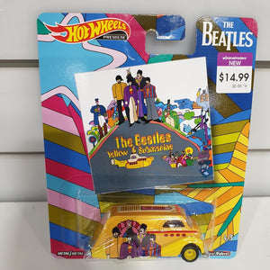 Hot Wheels 1:64 Beatles Yellow Submarine Deco Delivery