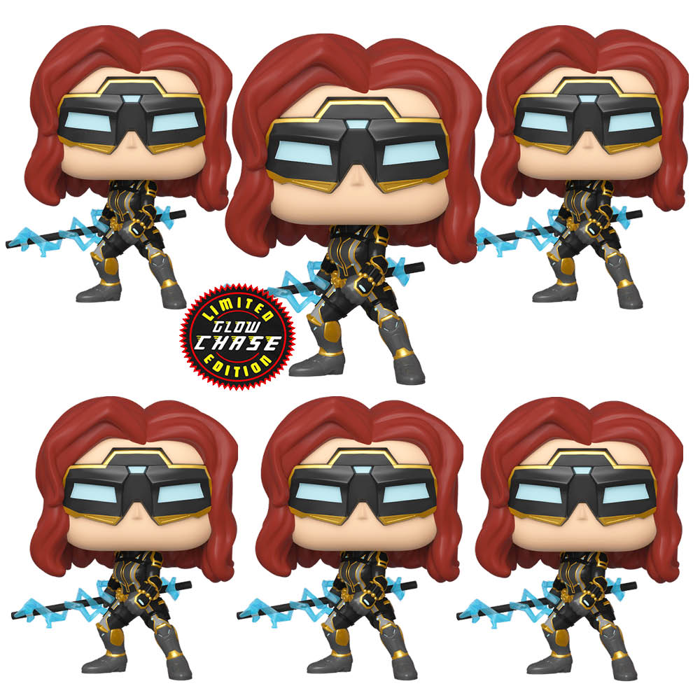 Avengers (Video Game 2020) - Black Widow Chase Bundle Pop! Vinyl