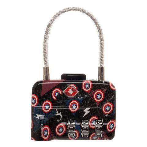 Marvel Captain America Cable Lock