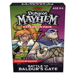 Dungeon Mayhem Expansion Battle for Baldurs Gate