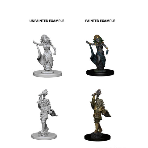 Image of Dungeons And Dragons Unpainted Minis Medusas