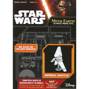 Metal Earth Star Wars Imperial Shuttle