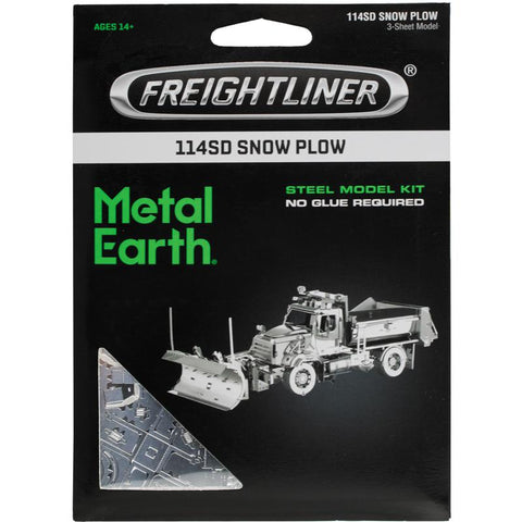 Metal Earth- Freightliner Snow Plow