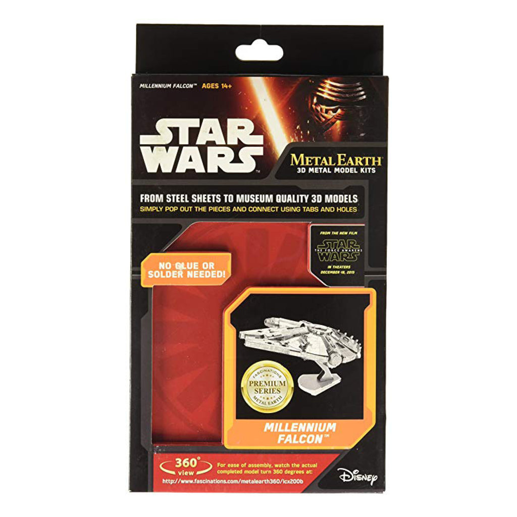 Metal Earth Millennium Falcon ICONX